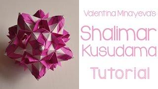 getlinkyoutube.com-Shalimar Kusudama Tutorial