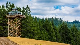 getlinkyoutube.com-Treehouse Without the Tree: Life in a Fire Lookout Home