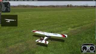 getlinkyoutube.com-How to fly 4 channel RC airplane