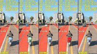 getlinkyoutube.com-Watch Dogs 2 Pc GTX 1080 Vs GTX 1070 Vs GTX 1060 Vs GTX 980 TI Vs GTX 980 Frame Rate Comparison