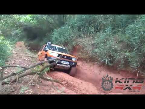 Pajero V6 3500 no Pinheirinho da Cantareira