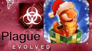 getlinkyoutube.com-Santa's Little Helper Mega Brutal Plague Inc: Evolved Gameplay