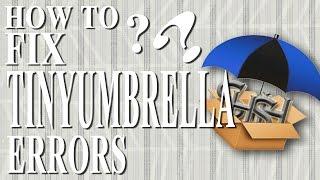How to fix tinyumbrella error - Tinyumbrella can't launch on Win 7