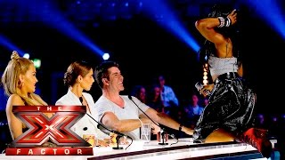 getlinkyoutube.com-Bupsi Brown gets Cowell'd   Auditions Week 2    The X Factor UK 2015