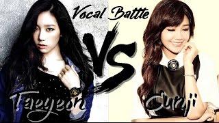 getlinkyoutube.com-Taeyeon (SNSD) VS Eunji (Apink) - Vocal Battle (C5 - G5 )
