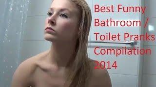 Ultimate Best Funny Bathroom / Toilet April Fool's Pranks Compilation 2014 Giveaway PewDiePie