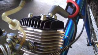 getlinkyoutube.com-80cc motorized bicycle with performance parts....