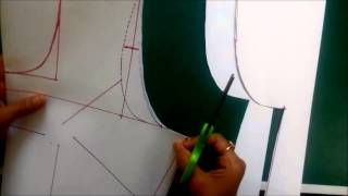getlinkyoutube.com-Simple Blouse Measurement Paper cutting and Stitching in Hindi Part 1