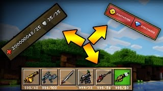 getlinkyoutube.com-Pixel Gun 3D - 11.0.0 God Mode !