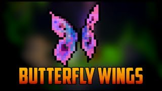 getlinkyoutube.com-Terraria - Butterfly Wings from Moth [Rare Mob]