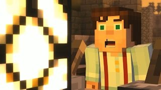 getlinkyoutube.com-Minecraft Story Mode - THE LOST TEMPLE! - Order Of The Stone - Part [3]