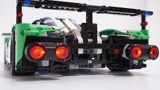 getlinkyoutube.com-LEGO Technic 42039 Automatic Parking Assistant(Mindstorms EV3) by 뿡대디