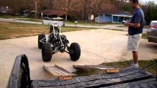 getlinkyoutube.com-Toccoa big R/C 35% Baja 5b Off-Road 125CC 4 Stroke‏  part 5