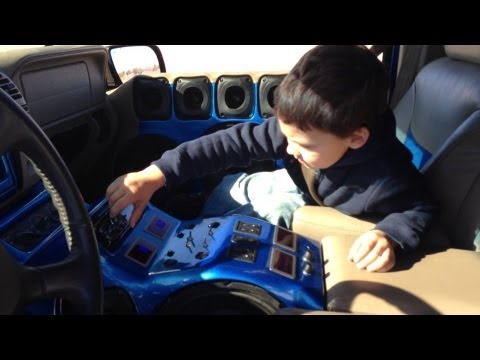 5 Year Old Operates 40,000 Watt Sound System!