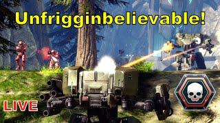 getlinkyoutube.com-3vs7 Unfriggenbelievable Spree Flag Win - Halo 4 LIVE Gameplay [MCC 1080p]