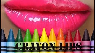 getlinkyoutube.com-How to make a lipstick or balm out of crayons