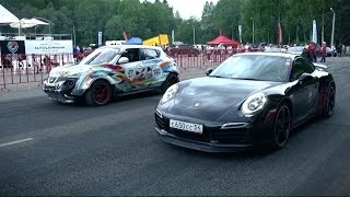 getlinkyoutube.com-Audi RS6, Nissan Juke R, Jeep GC SRT8 (Top 3 fastest tuned Gran Turismo car)