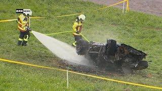 Hemberg SG: Unfall mit einem Millionen Sportauto - Richard Hammond (Ex-Top Gear) leicht verletzt