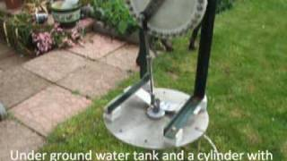 getlinkyoutube.com-Vertical axis wind powered water pump