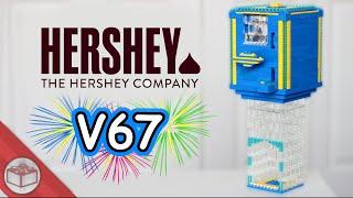 getlinkyoutube.com-Lego Hershey's Kiss Machine | New Year's