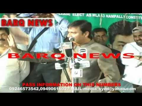 BARQ NEWS..SPEECH OF AKBARUDDIN OWAISI AT MURADNAGER ON 19TH APRIL 2014