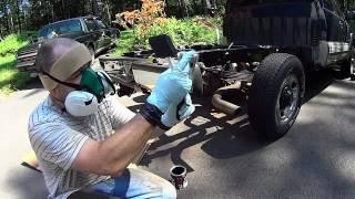 Chassis Saver on Silverado rusty frame