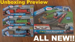 getlinkyoutube.com-All New Trackmaster Talking Thomas + 2 in 1 Track Builder Set Preview + Sportbikes