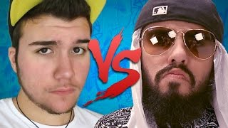 getlinkyoutube.com-Keyblade VS Mussoumano | Batalha de Youtubers (CC ESPAÑOL)