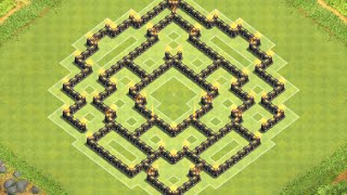 getlinkyoutube.com-Clash of Clans - Epic TH8 Hybrid Base