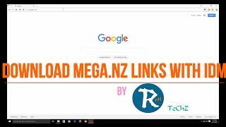 getlinkyoutube.com-How To Download Mega Files Using IDM (Latest 2016)