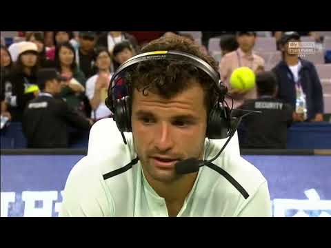 Grigor Dimitrov - Post-Match Interview