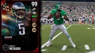 99 Boss Ultimate Legend Donovan McNabb | Player Review | Madden 17 Ultimate Team Gameplay | MUT 17