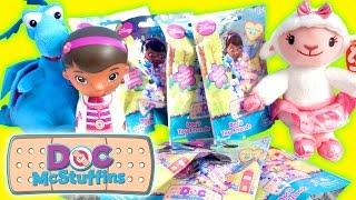 getlinkyoutube.com-Doc McStuffins Surprise Mystery Blind Bags with Doc, Stuffy & Lambie - Disney Jr.
