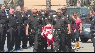 getlinkyoutube.com-Long Beach Police Dog Shot, Killed In Line Of Duty