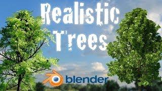 getlinkyoutube.com-Create Realistic Animated Trees - Beginner Blender Tutorial