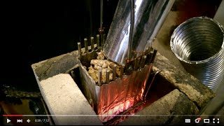 getlinkyoutube.com-#450 Rocket Stove Pellet Feeder update 2
