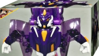getlinkyoutube.com-터닝메카드 에반 퍼플 보라색 , 변신 자동차 로봇 메카니멀 손오공 장난감 슬로모션 리뷰 Turning Mecard Evan purple
