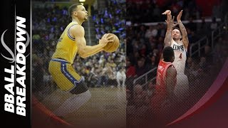 getlinkyoutube.com-How Steph Curry And JJ Redick Rained Down The 3s Last Night
