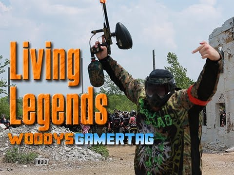 Living Legends Paintball with FPS Russia, Whiteboy7thst, Joe Lauzon, and WoodysGamertag