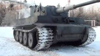 getlinkyoutube.com-Replica of Tiger tank