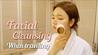 getlinkyoutube.com-[ENG]해외여행 클렌징 루틴! - Facial Cleansing When Traveling | 다또아