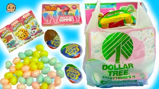 getlinkyoutube.com-Dollar Tree Store Haul - Chocolate, Eggs, Easter Painting Crafts, Shopkins, Trolls Gummy