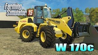 getlinkyoutube.com-Farming Simulator 2015 - Pá Carregadeira W 170c