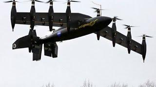 getlinkyoutube.com-NASA's Greased Lightning 10-Engine Hybrid Electric VTOL Drone