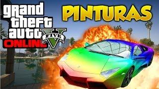 getlinkyoutube.com-GTA 5 Online Pinturas Extrañas y Raras #2 Combinaciones de Colores Grand Theft Auto V Online