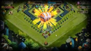 getlinkyoutube.com-Castle Clash - Now That's What I Call Rolling 9500 Gems...020416
