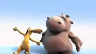 getlinkyoutube.com-Мультфильм HIPPO SONG Бегемот поет. Песня бегемотика