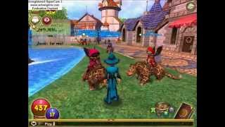 getlinkyoutube.com-Wizard101 Fucking with people in the Commons!