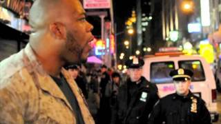 getlinkyoutube.com-1 Marine vs. 30 Cops: Sgt. Shamar Thomas (By. J. handy)