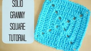 getlinkyoutube.com-CROCHET: How to crochet a solid granny square for beginners | Bella Coco